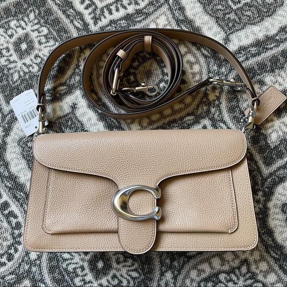 COACH 73995 Tabby Leather Shoulder Bag